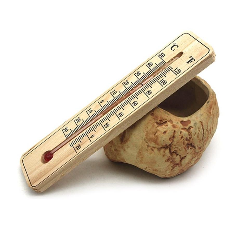 Kleines Holz-Thermometer - Bild 1