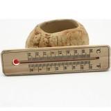 Kleines Holz-Thermometer - Bild 2
