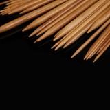 Rundstricknadeln 80cm im Set - 18 Stück aus Bambus - Bild 3