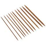 11-teiliges Stricknadel-Set aus Bambus - Bild 2