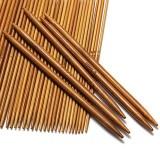 11-teiliges Stricknadel-Set aus Bambus - Bild 3