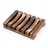 Seifenschale aus Bambus - rustikal - 2