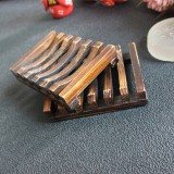 Seifenschale aus Bambus - rustikal - 4