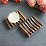 Seifenschale aus Bambus - rustikal - 5